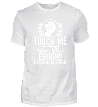 Touch me - first Eskrima lesson free