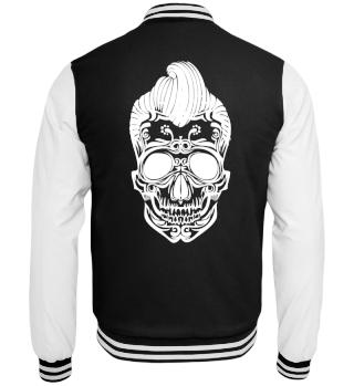 Totenkopf Sweatjacke - Skull Jacke