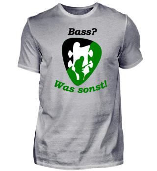 Das Shirt für Bassisten