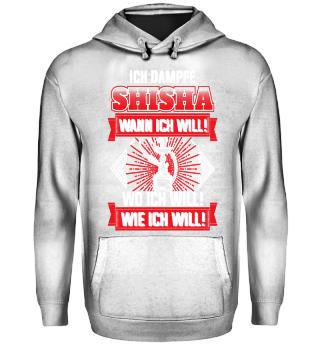 Ich dampfe Shisha Wann Wo Wie ich will²
