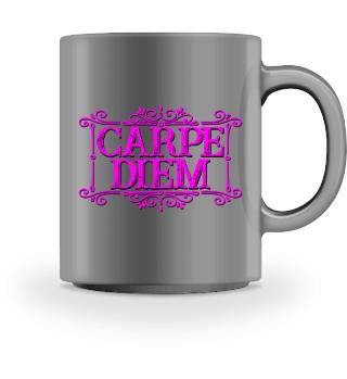 CARPE DIEM - vintage frame pink