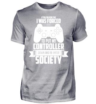 Forced Gamer!