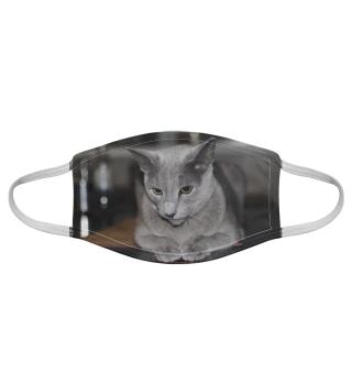 Gesichtsmaske mit Katzenmotiv 20.34