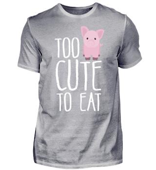 Pig Veggy Vegan Vegetarian Veggie Gift