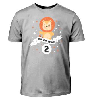 Geburtstag Shirt Kinder Baby's 2 Jahre