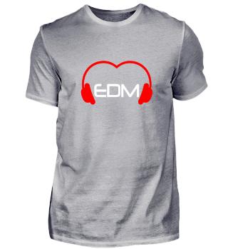 Festival Love EDM Shirt Weiß