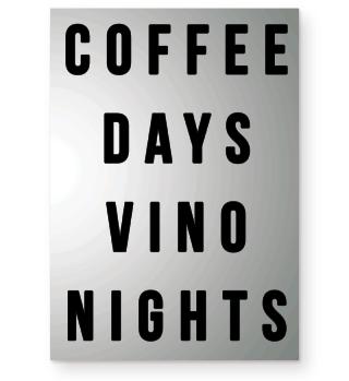 Wein Kaffee Coffee Spruch Geschenk
