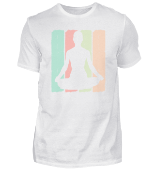 Meditation Vintage   Yoga Retro Namaste