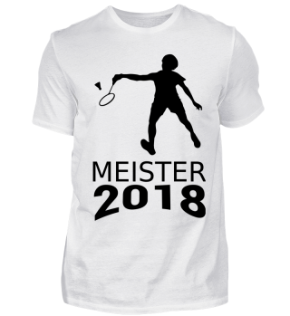 Badminton Meister 2018