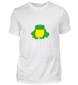 Toadly Funny Toad Frog Smoking Amphibian