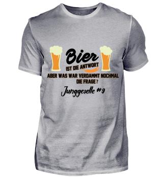 JGA Bier - Junggeselle #9