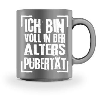 ALTERSPUBERTAET - weiss