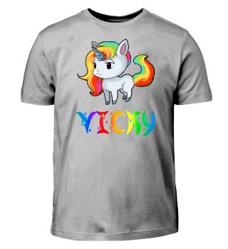 Vicky Unicorn Kids T-Shirt