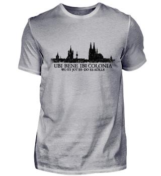 Köln Skyline Ubi Bene Ibi Colonia