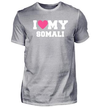 I love my Somali Cat