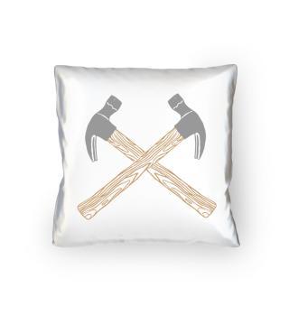 Crossed Hammer Apron