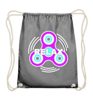 Fidget Spinner - relax - white