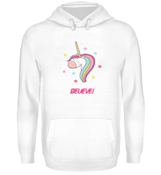 Believe Magical unicorn sweet gift