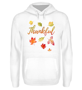 Thankful Fall Thanksgiving Day Gift