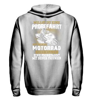 Motorrad Superbike Probefahrt