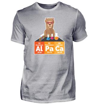 Alpaca Alpaka Element Periodensystem