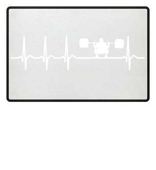 Heartbeat Powerlifting Fitness Cool Fun
