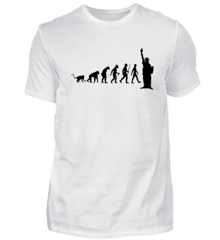 Evolution Of Humans - Lady Liberty I