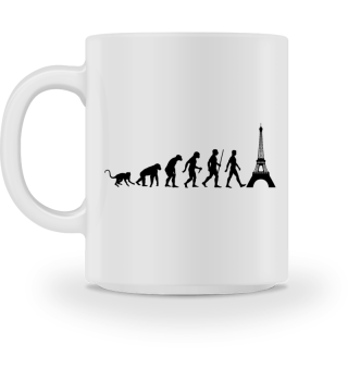 Evolution Of Humans - Eiffel Tower I