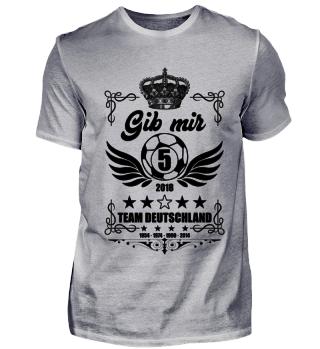 FUSSBALL SHIRT · GIB MIR FÜNF #2.4