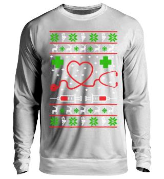 Krankenpflege Ugly Christmas
