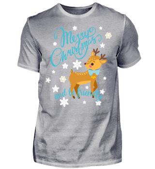 ★ Merry Christmas Fawn Snowflakes II