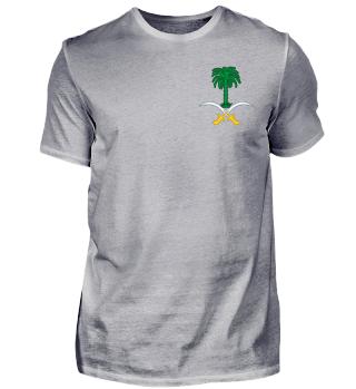 Freizeit Shirt Wappen Saudi Arabien