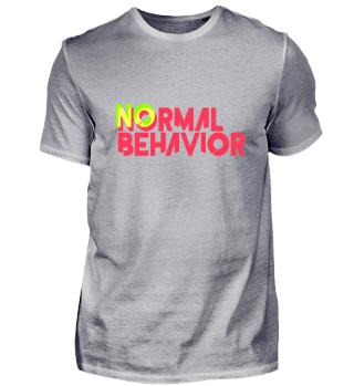 No normal behavior