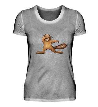 Dabbing Biber Beaver Dabber Gift Geschenk