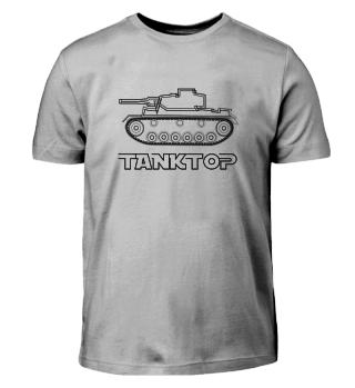 Tank top military fun