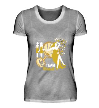 JGA | Team Braut (Gold-Weiss)