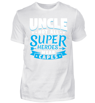 Family Uncle Superheroes Capes