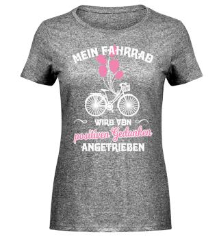Mein Fahrrad - Positive Gedanken