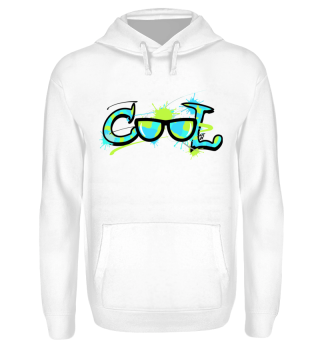 Cool Sonnenbrille Graffiti Comic Wort