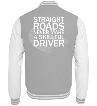 Straight Roads Collegejacke