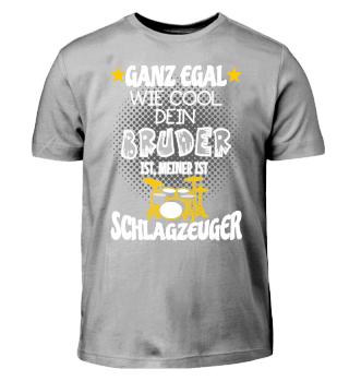 Kinder Shirt - Bruder Schlagzeuger