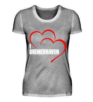 I love Bremerhaven Damenshirt
