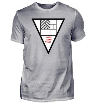 Das Dreieck 2.2 weiß