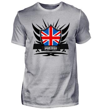 Great Britain Proud Wappen Flag 011