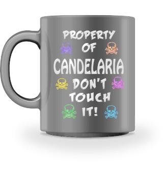 Property of Candelaria Mug