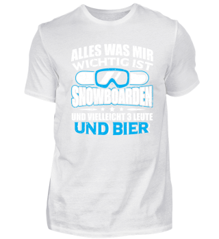 Snowboard Snowboarding Shirt Alles Was