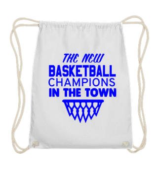 GIFT-BASKETBALL CHAMPION IN TOWN BLUE
