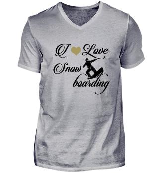 ☛ I LOVE SNOWBOARDING #4SG
