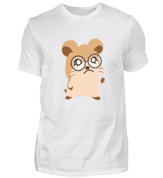 Guinea Pig or Hamster Tears and Glasses