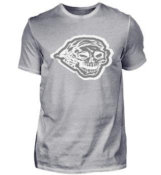 Totenkopf Schädel Skull Kopfband Böse